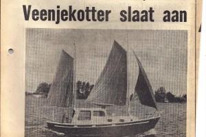 1977 Veenje Kotter in Drachtster Courant